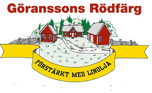 Bild: Göranssons Rödfärg klassisk slamfärg från Sundborn / Falun. Traditionellt kokad sedan 1950