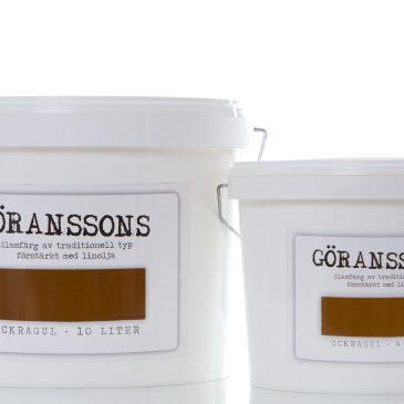 Göranssons Ockragul slamfärg